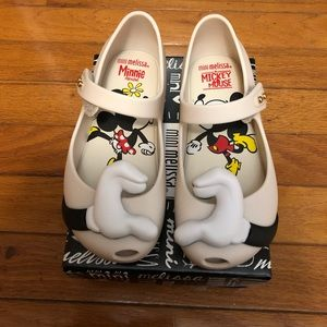 Mini Melissa Mickey hand shoes toddler